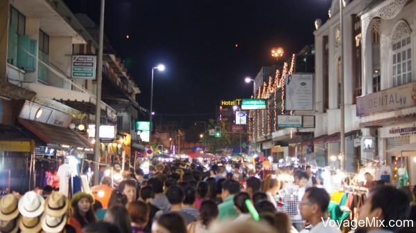 Новый год на севере Таиланда в Чиагмае