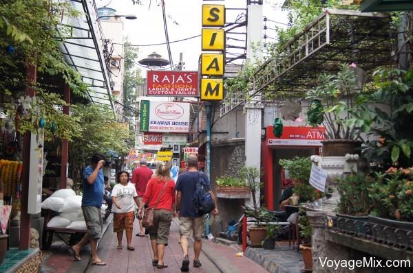 Недалеко от Khaosan Road