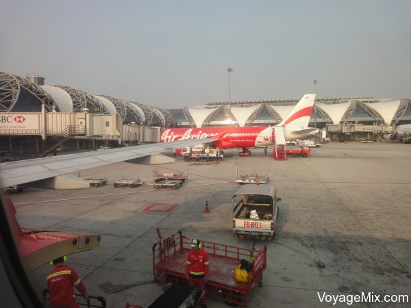 Два перелета ЭирАзия, Чиангмай - Бангкок, Бангкок - Краби