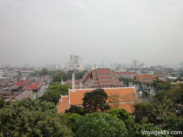 Вид с крыши Wild Orchid Villa