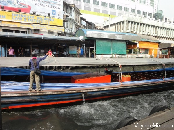 Проехались по реке Чао Прайя
