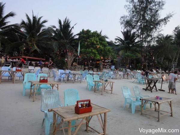 Вечерний берег Ко Пангана