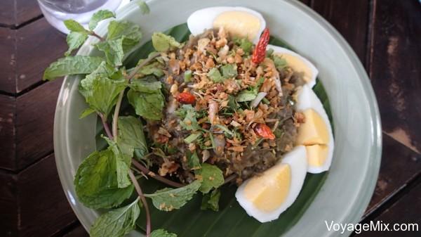 салат из баклажанов в северном стиле